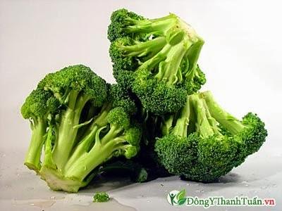 Thực phẩm mát gan giải độc - Bông cải xanh