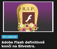 AzaNoviny -  Adobe Flash definitivně končí na Silvestra.
