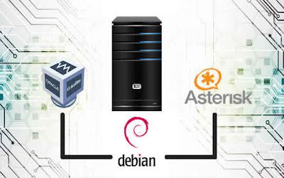 Cara Mudah Konfigurasi Voip Dengan Asterisk di Debian 8