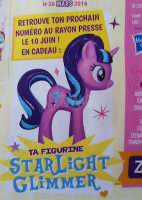 Starlight Glimmer UK Magazine Figure