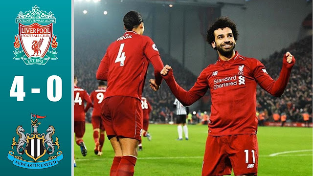 Liverpool Goleia o Newcastle por 4 a 0 e amplia vantagem na Premier League (Highlights)