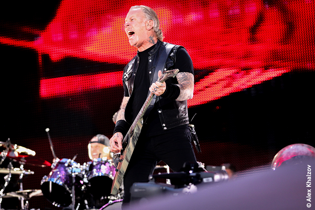 Metallica в Лужниках