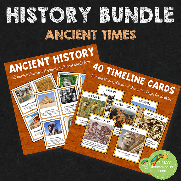 World History:  Ancient Times Bundle