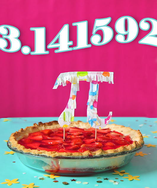 7UP Strawberry Pie and a Pi Day Party