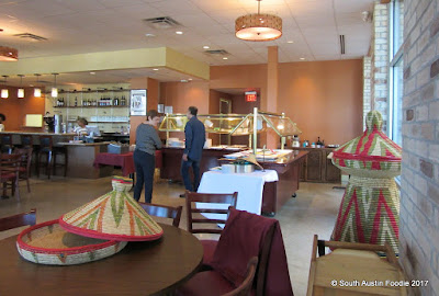 Taste of Ethiopia South Congress buffet