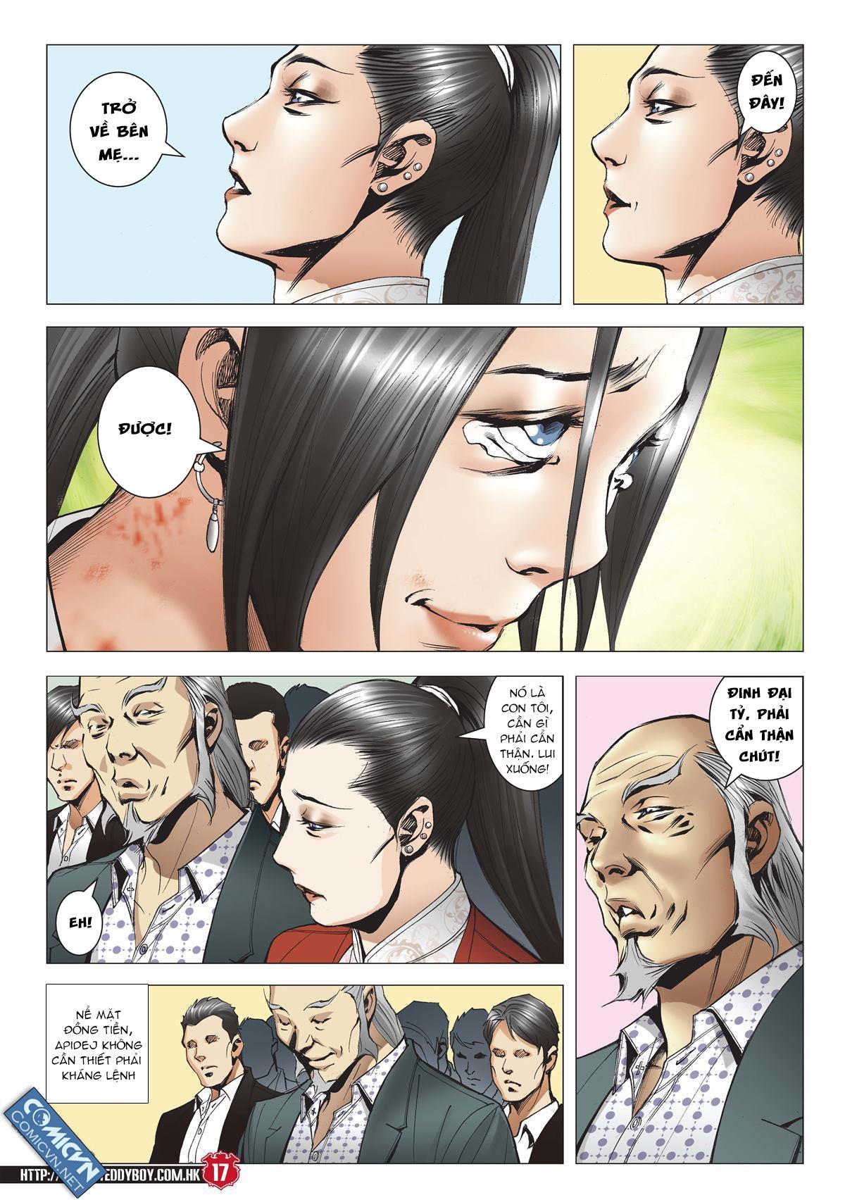 Người Trong Giang Hồ chapter 2001: tự tận trang 16