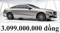 Giá xe Mercedes E300 Coupe 2018
