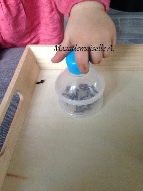|| Plateau sensoriel : Transvasement avec des clous de girofle