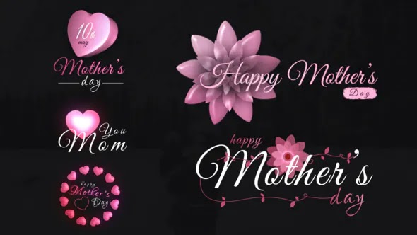 Videohive Mothers Day Sweet Titles 26603323