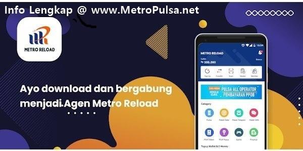 Mari Bisnis Jualan Pulsa Elektrik Murah All Operator Bersama MetroPulsa.net CV Metro Media Payment