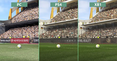 Pro Evolution Soccer 2017 Graphic Comparison