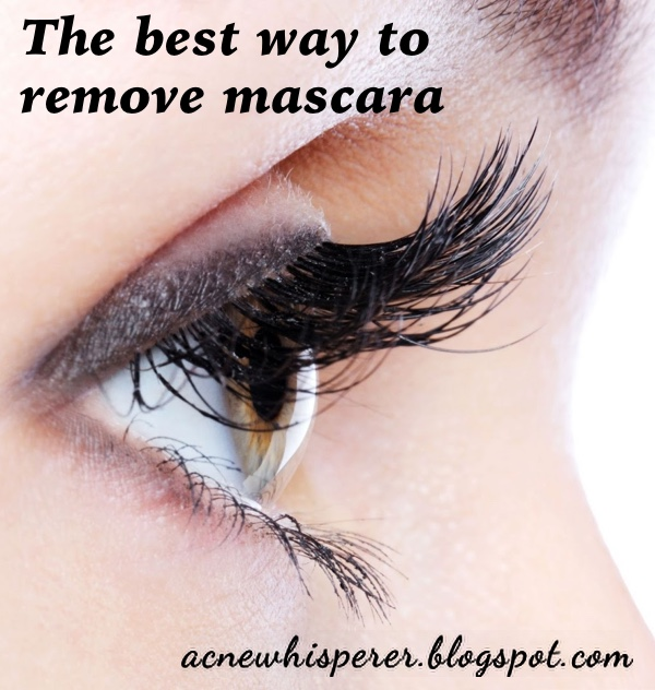 What is the best way to remove mascara to avoid milia