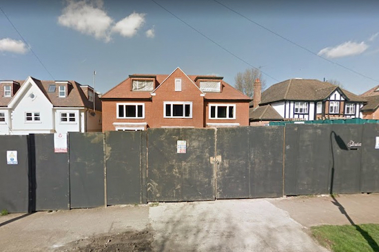 11 Brookmans Avenue, Brookmans Park - March 2019 Screen grab of image from Google Maps
