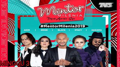 Live Streaming Mentor Milenia 2019 Minggu 3