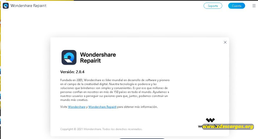 Wondershare Repairit Full Español