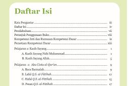 Buku Agama Islam Kurikulum 2013 SD semester 2