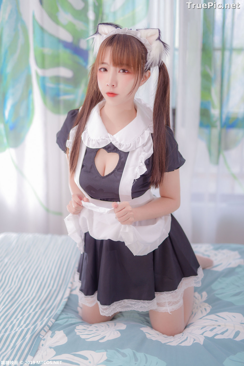 Image [MTCos] 喵糖映画 Vol.049 - Chinese Cute Model - Lovely Maid Cat - TruePic.net - Picture-8