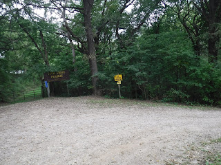 picture of entrance to Five Ridge Prairie in Westfield, Iowa