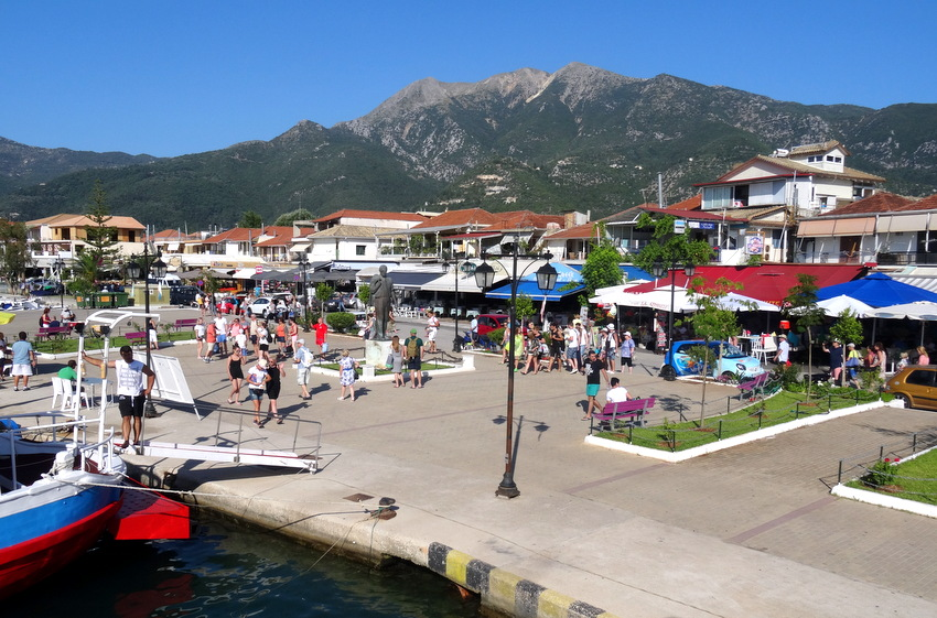 Lefkada Greece Nydri Harbour And Marina By Day Travel
