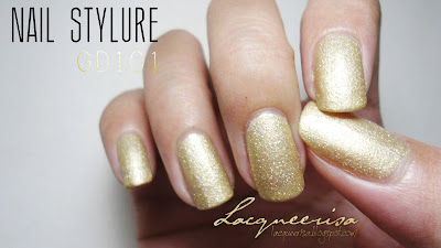 Lacqueerisa: It's Skin Nail Stylure GD101