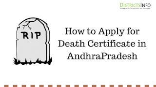 How to Apply for Death Certificate in AndhraPradesh