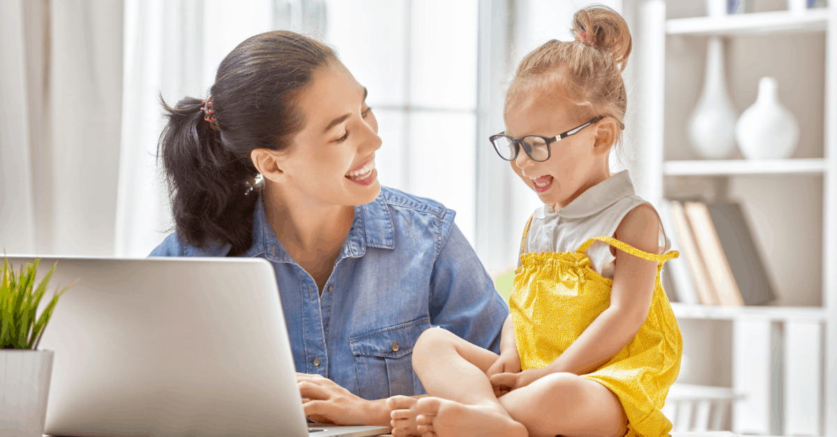 5 Online Work Ideas for Stay-At-Home Moms