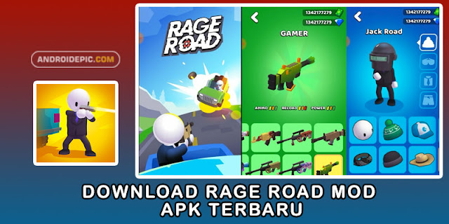 Download Rage Road Mod Apk Terbaru