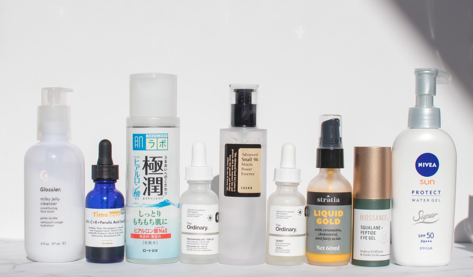 Products for Day Routine for Oily Acne Prone Skin