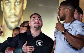 Anthony Joshua and Andy Ruiz Jr address rematch in Saudi in Dec.