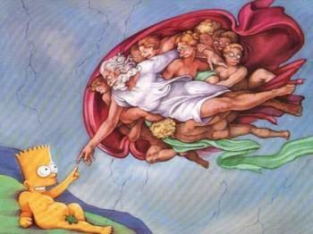 Bart en el arte