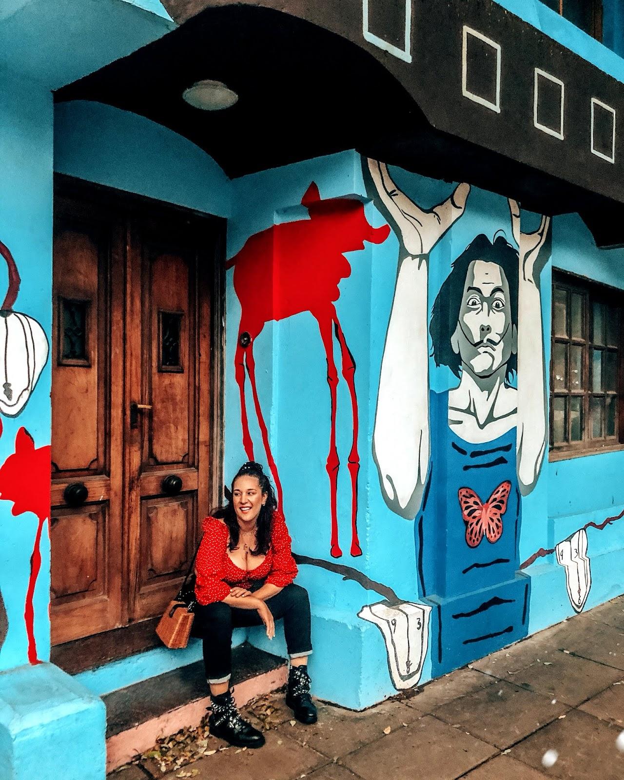 la casa de papel mural