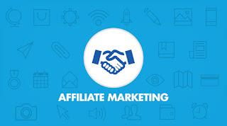 Concept of Deep link Affiliate marketing