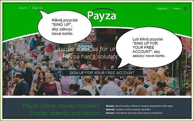 Payza rejestracja — zakładanie darmowego konta Payza, krok po kroku.