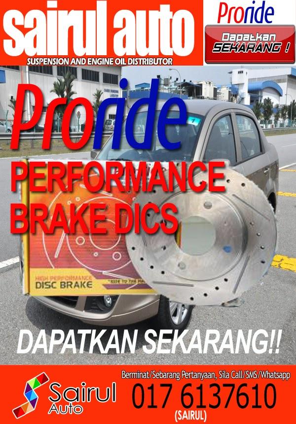 PRORIDE PERFORMANCE BRAKE DISC DAPATKAN SEKARANG!!   PRORIDE