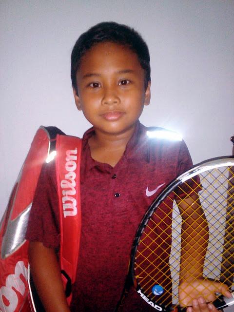 Atlet President's Tennis Club Kediri Raih Hasil Bagus di Liga.Tennis National Junior Championship