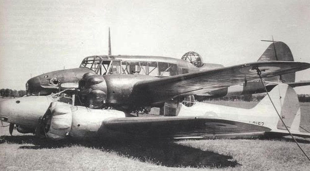 1940 Mid-Air Collision at Brocklesby
