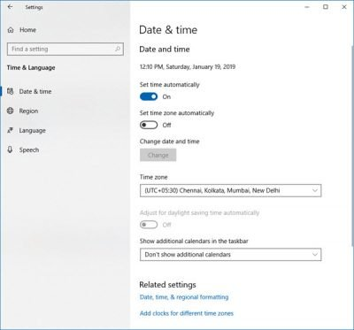 Tutorial Cara Mengubah Bahasa, Waktu, Wilayah di Windows 10 Bahasa Indonesia - 2