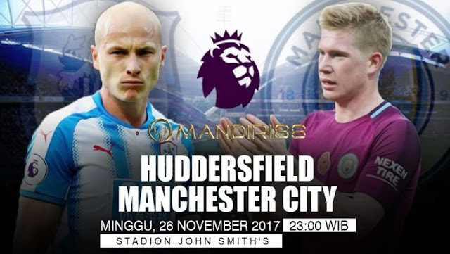Manchester City bertekad untuk menjaga posisi mereka di puncak klasemen EPL ekspresi dominan ini Berita Terhangat Prediksi Bola : Huddersfield Town Vs Manchester City , Minggu 26 November 2017 Pukul 23.00 WIB @ RCTI
