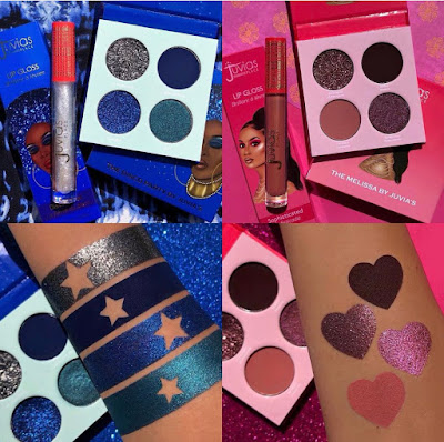 Juvia's Place  Disco Fever & Melissa Collection Palette