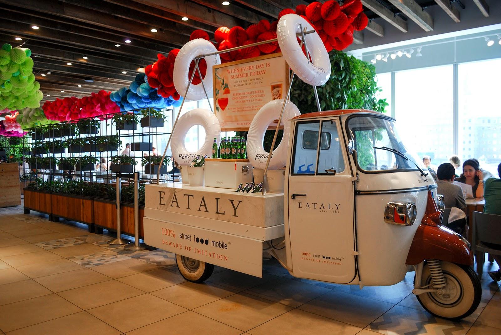 new york itinerary guide plan eataly westfield wtc food market restaurant manhattan