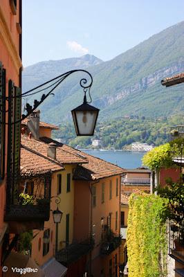 Vista del Lago di Como di Bellagio