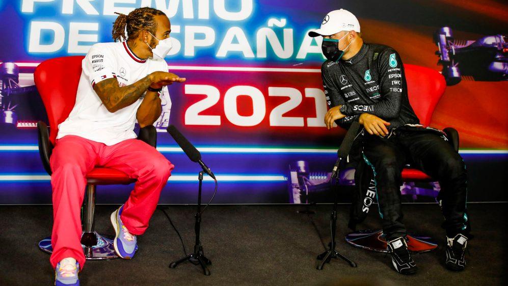 Bottas poderia ter enfrentado algumas questões difíceis se Hamilton não tivesse vencido na Espanha no domingo