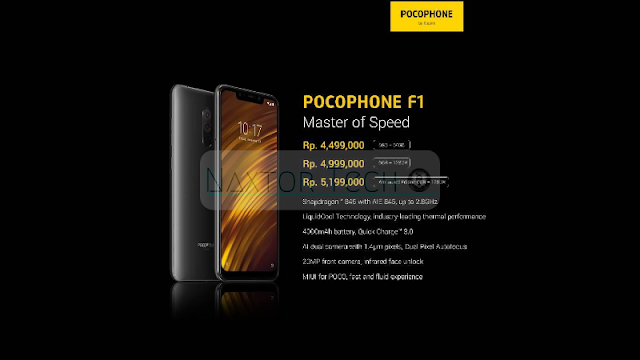 Flash sale Xiaomi Pocophone F1