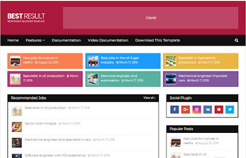 Best-Result Blogger Template Free Download | Best Result Blogger Theme Download