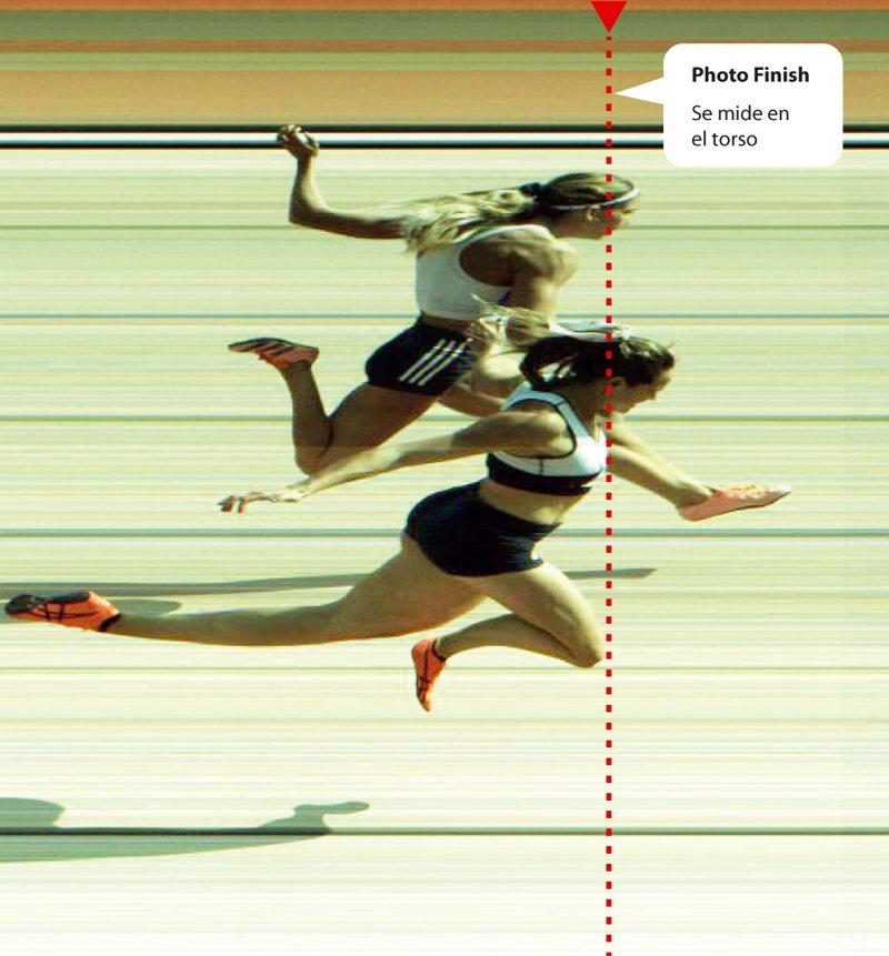Este es el photo finish de la carrera que María Ignacia Montt le ganó a Isidora Jiménez por una centésima