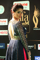 Raai Laxmi in Beautiful Backless Designer Anarkali Gown at IIFA Utsavam Awards 2017  Day 2  Exclusive 31.JPG