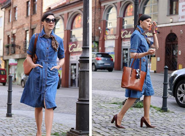 szmizjerka jeansowa stylizacje