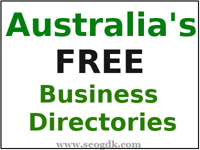 Free Australian Directory Submission Sites List