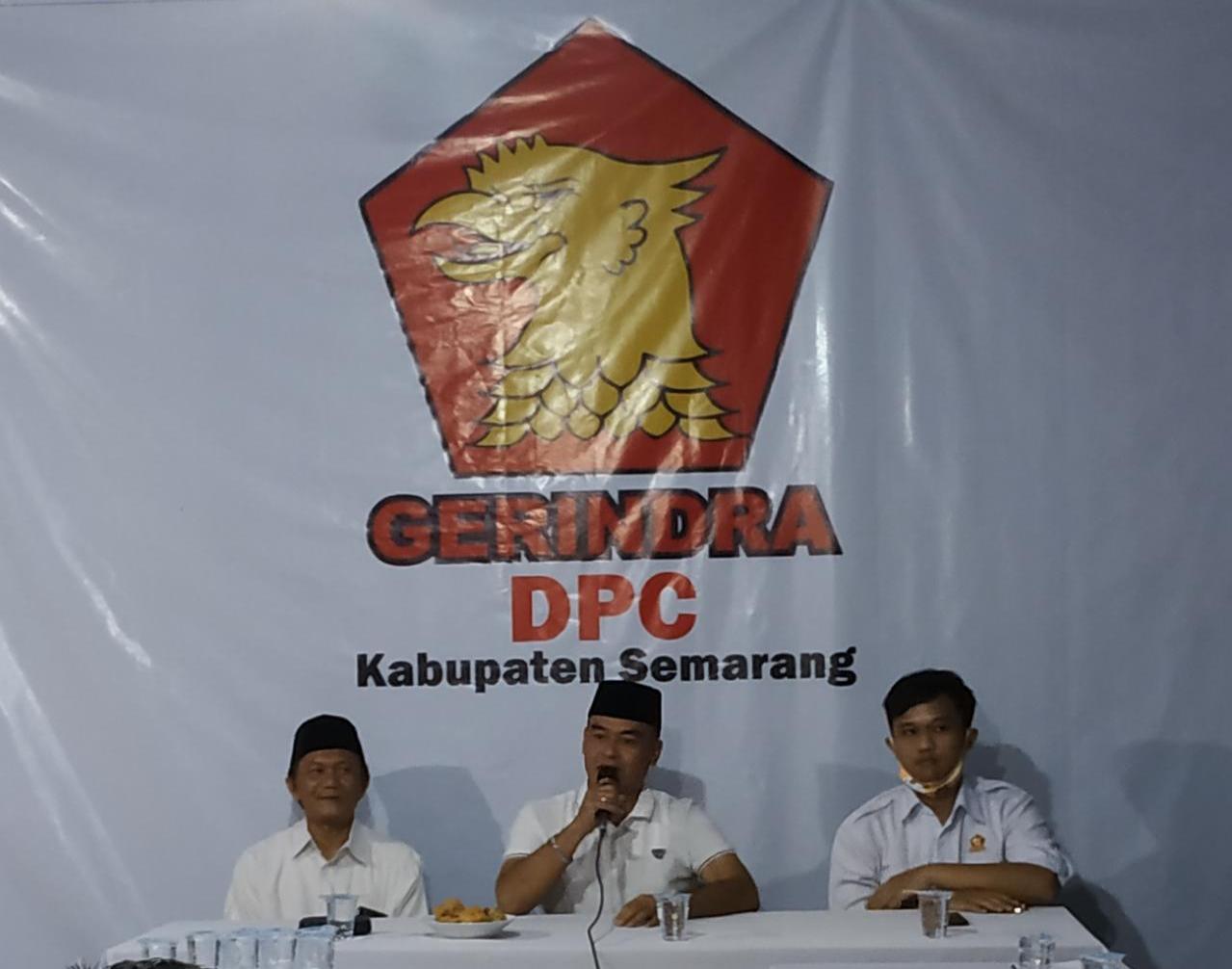 Dewan Pimpinan Cabang (DPC) Partai Gerakan Indonesia Raya (Gerindra) Kabupaten Semarang