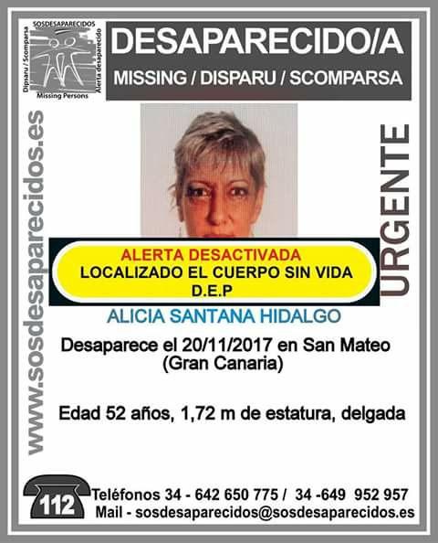 Encuentran muerta a mujer desaparecida en San Mateo